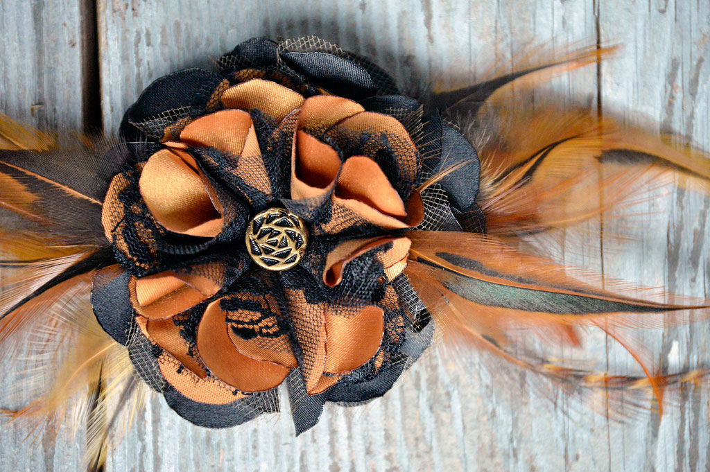 Curry Shayde Fascinator by Catfight Craft