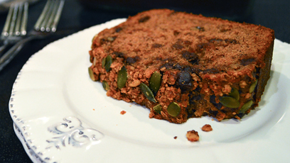 Candied Nut Banana Bread by Catfight Craft
