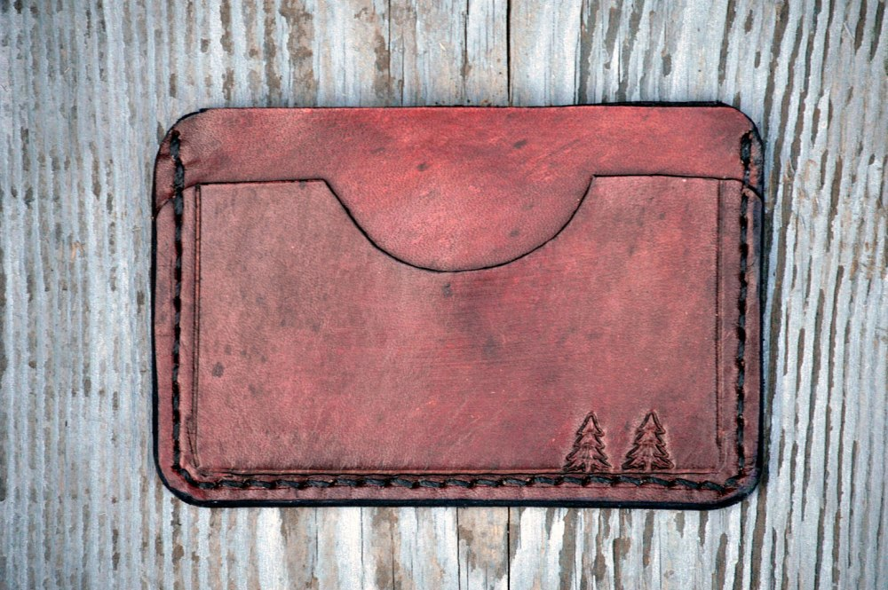 Handcrafted Leather Wallets by Dad—on Etsy (6/6)