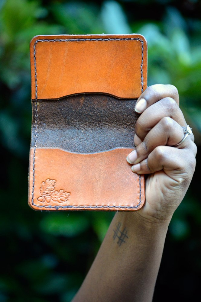 Handcrafted Leather Wallets by Dad—on Etsy (5/6)