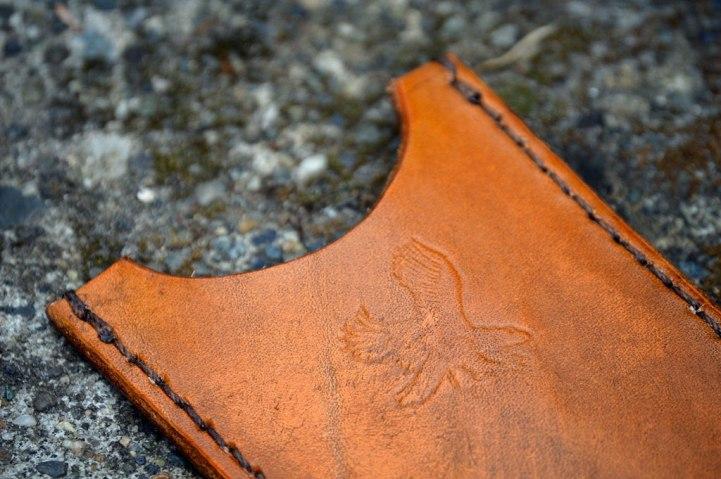 Eagle Stamped Wallet