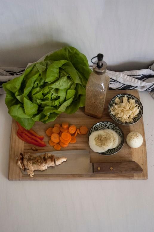 Big Salad Ingredients