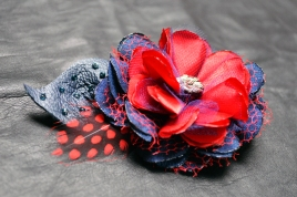 Betty Blue Fascinator