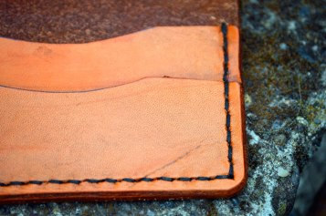 Live to Ride Folding Leather Wallet by Dad on Etsy