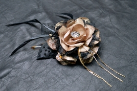 LeatherAndLace Roxie Marie Fascinator