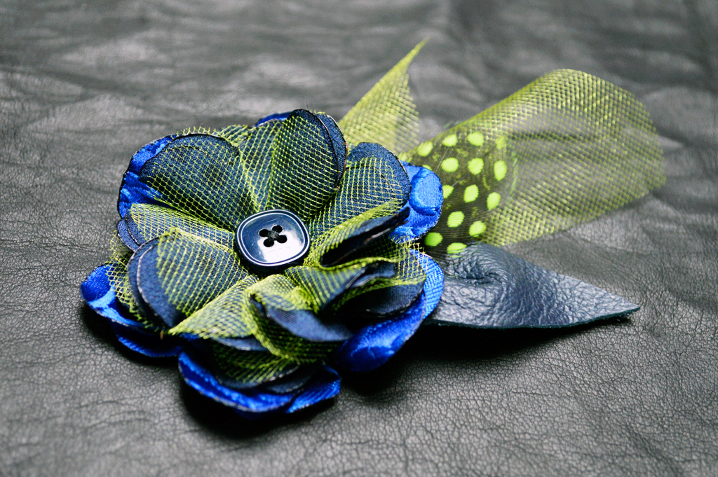 Seattle Seahawks Fascinator by Bethany L. Potter
