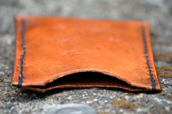 Skinny Leather Stars Wallet on Etsy