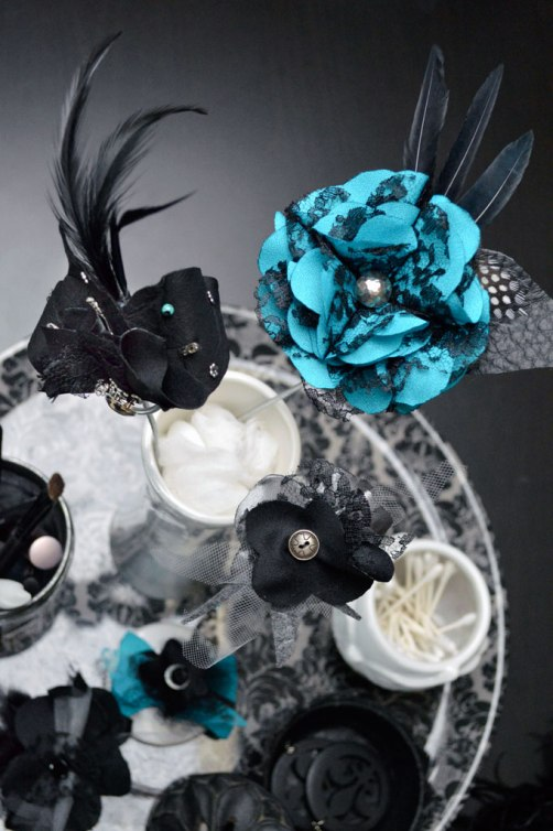 Fascinators by Catfight Craft
