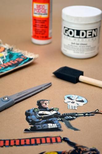 Comic Book Repurposing Materials