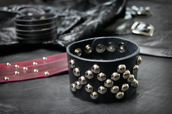 Daddy Likes Leather Bracelets