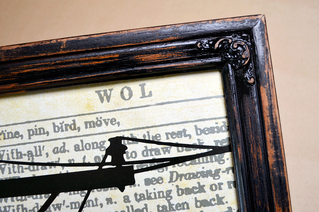 Distressing Wood Frames