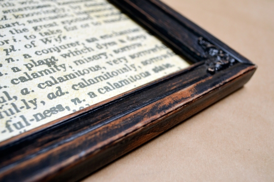 Distressing Wood Frames