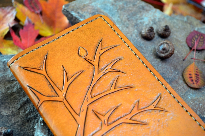 Fall Tree Leather Journal