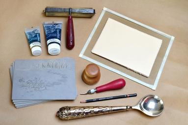 Linoleum Block Carving / Printing Supplies