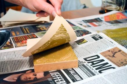 Linoleum-Printing