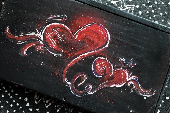 Painting Wedding Box