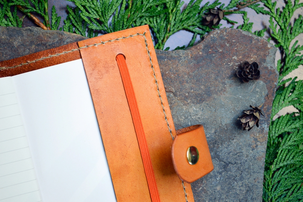 Handmade Leather Journals by Dad (2/6)