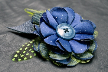 Seahawks Hair Clip by Bethany L. Potter
