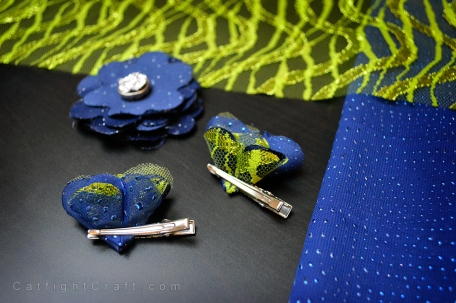 Seahawks Clips in Progress by Catfight Craft