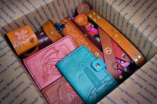 Doug Potter's Box of Leather Goodies