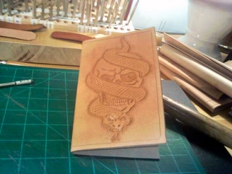Doug Potter's Handmade Skull Journal