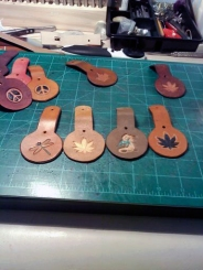 Doug Potter's Handmade Key Rings