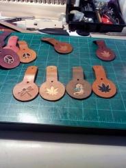 Doug Potter's Handmade Key Rings