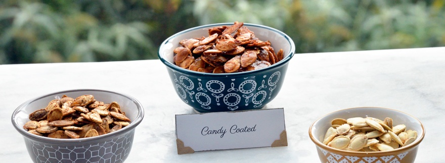 Roasted Pumpkin Seeds by Catfight Craft