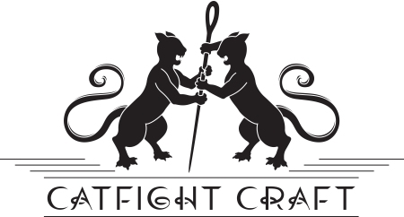 Catfight Craft Logo by Bethany Potter
