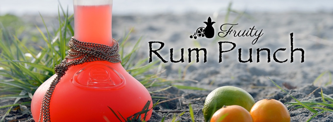 Fruity Rum Punch Text by Catfight Craft