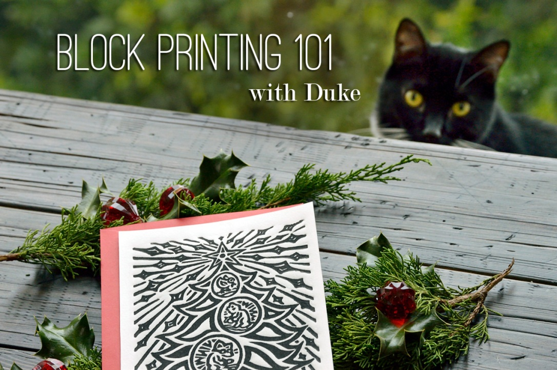 Block Printing 101 with Duke and CFC