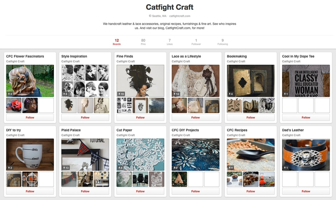 Catfight Craft on Pinterest