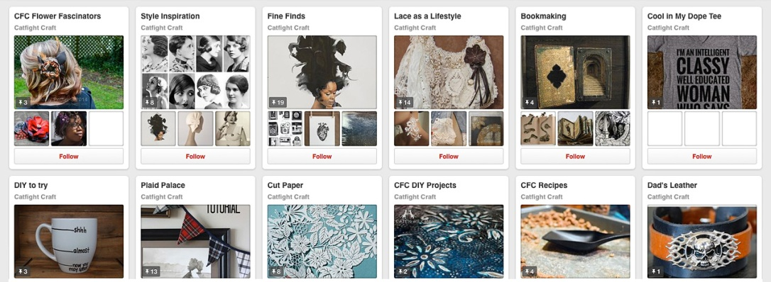 Pinterest Boards to Follow by CFC