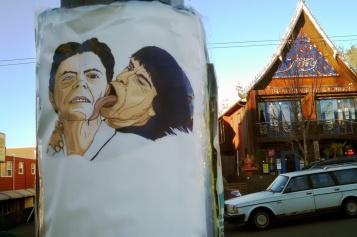 David Bowie Monkey Love Street Art